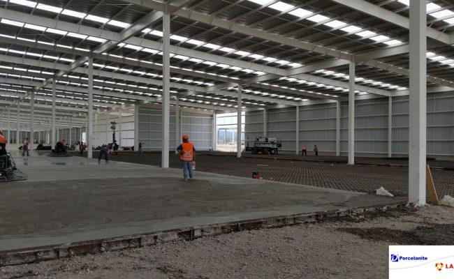Construcción de bodegas industriales en Querétaro