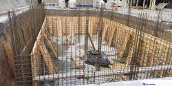 Construcción de cisterna en Porcelanite
