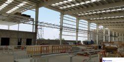 Construcción de racks y estructura en Porcelanite