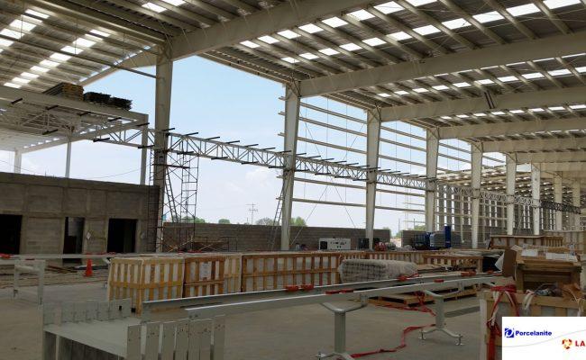 Constructor de racks y estructuras para porcelanite