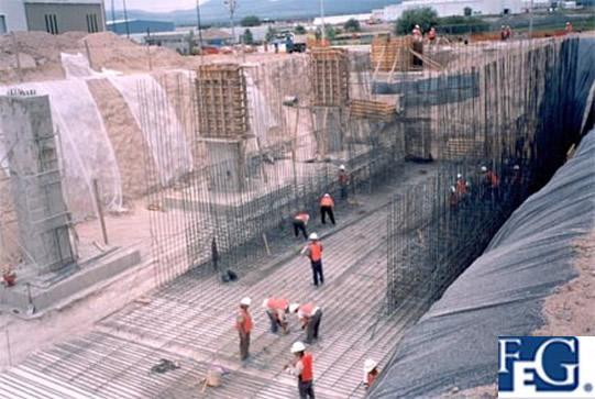 Feg – Construcción de Naves Industriales en Querétaro -1