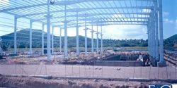 Construcción de la nave de manufactura y Oficinas FEG
