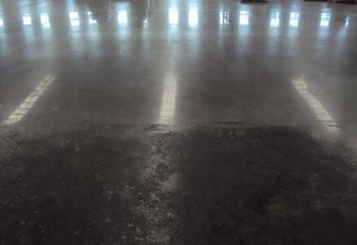 Pulido y mantenimiento de pisos