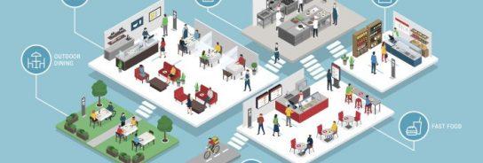 Así cambiará la pandemia del coronavirus la arquitectura de los restaurantes