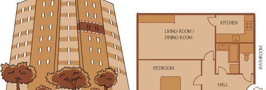 Los apartamentos de la era comunista de Praga cobran una segunda vida
